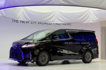 2月24日正式出售雷克萨斯LM售116.6万起