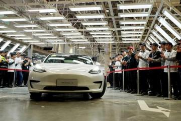 10.3万辆!特斯拉一季度产值创纪录上海工厂创新高