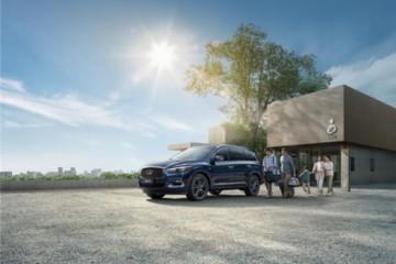 英菲尼迪7座混动大SUV新QX60上市装备细节提高